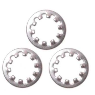 Bentuk bulat M5 hingga M20 Internal Tooth Lock Washer
